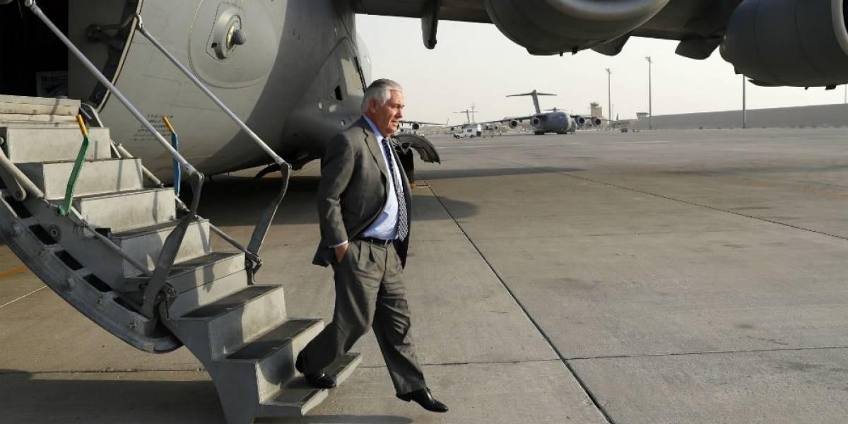 Tillerson visita Afganistán sin previo aviso y bajo gran hermetismo