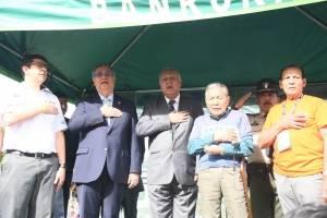 Vicepresidente participa en inauguración de la Vuelta Ciclística a Guatemala.