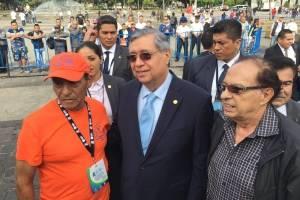 Vicepresidente participa en inauguración de la Vuelta Ciclística a Guatemala
