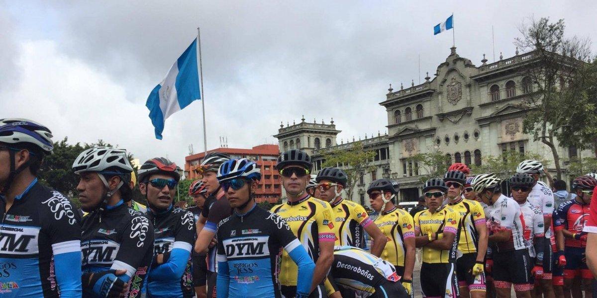 La 57 Vuelta Ciclística a Guatemala se pone en movimiento