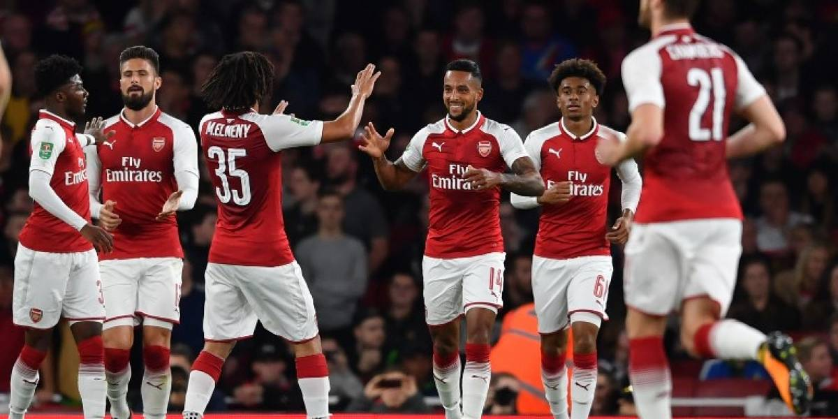 Así vivimos la dramática victoria del Arsenal sobre Norwich en la Copa de la Liga
