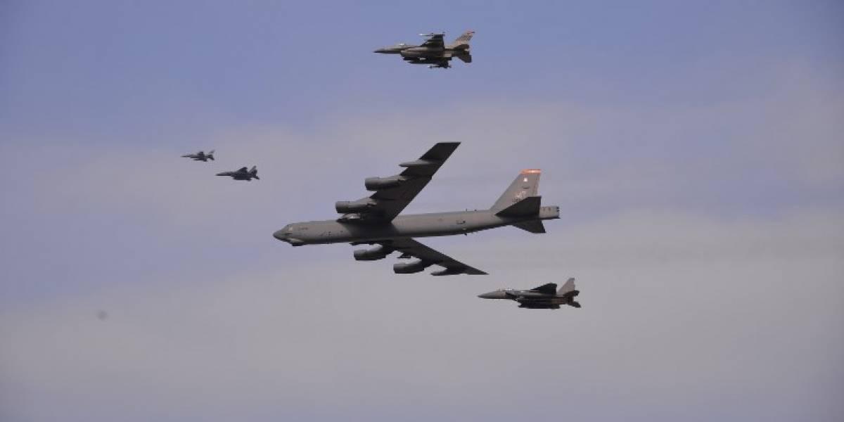 Trump se prepara ante amenazas de Kim: EEUU pondría a sus bombarderos nucleares en alerta las 24 horas