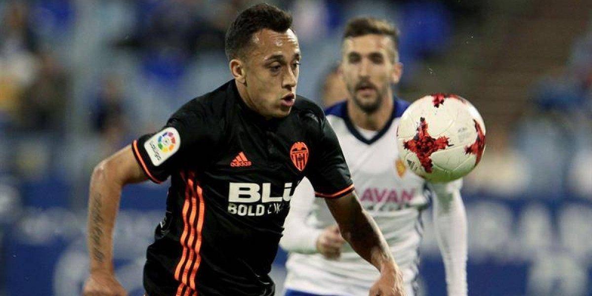 El entrenamiento extra le dio resultado: Orellana volvió a jugar en Valencia en la Copa del Rey