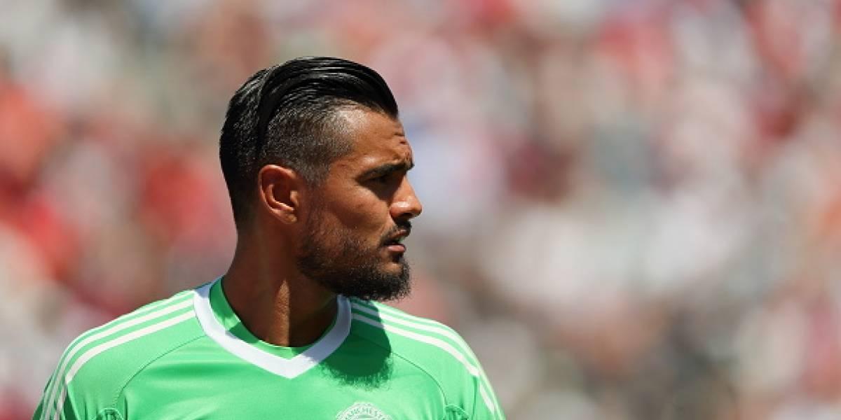 'Chiquito' Romero se colocó los guantes de Máximo Banguera