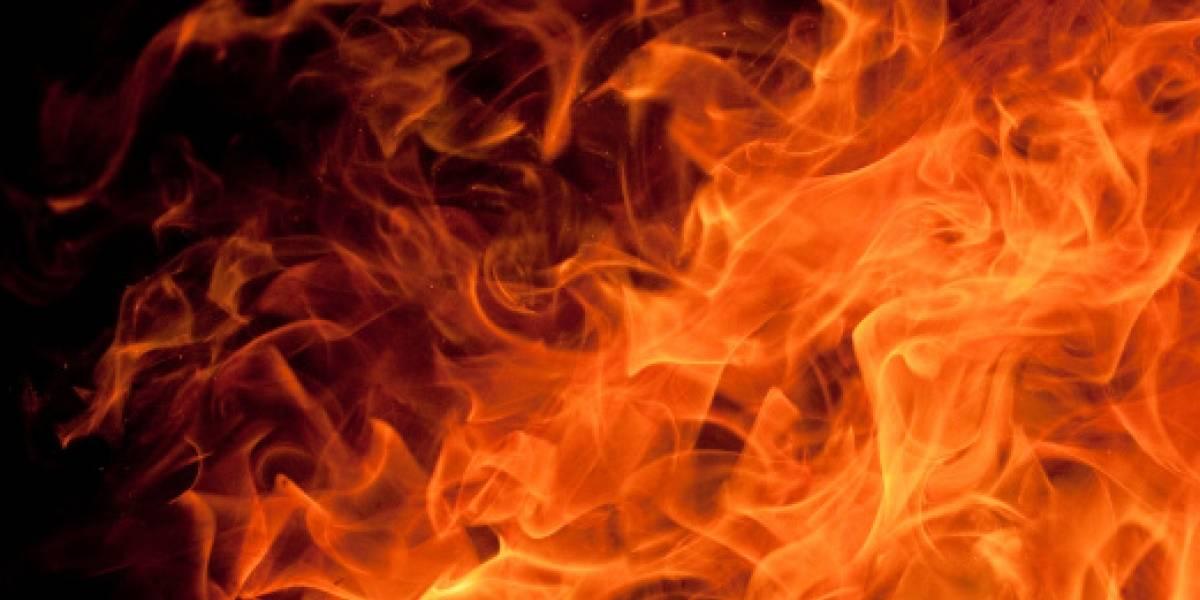 Incendio estructural en el sector de San Luis de Chillogallo