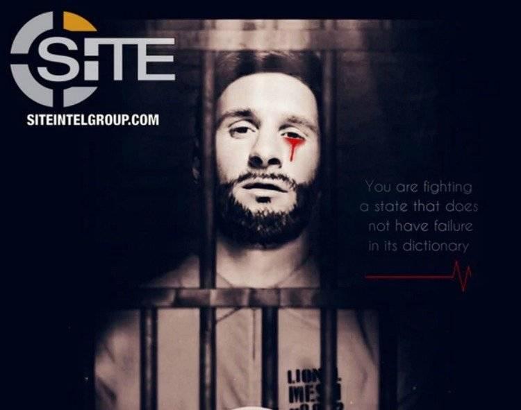 El afiche de Lionel Messi