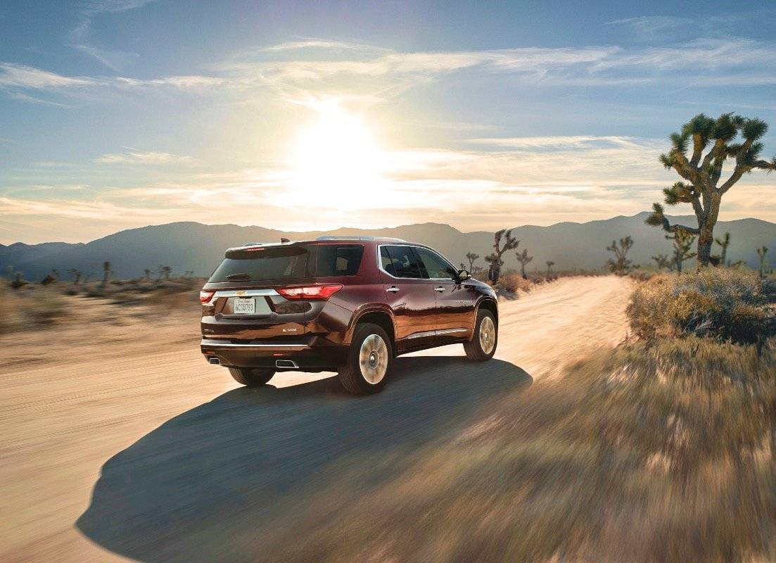 All New Chevrolet Traverse 2