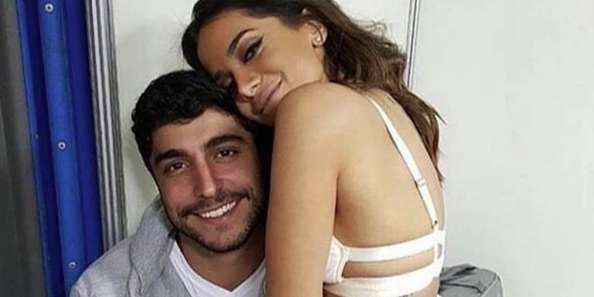 Marido de Anitta brinca com look da cantora: 'impossível não se apaixonar'