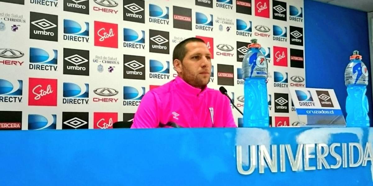"""Aued reconoce el fracaso de la UC: """"Ir a una copa internacional es lo único que nos queda"""""""
