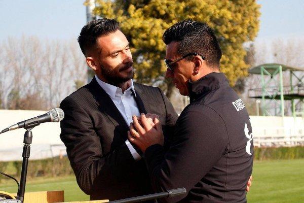 Pinilla y Paredes son los letales delanteros del fútbol chileno / imagen: Agencia UNO