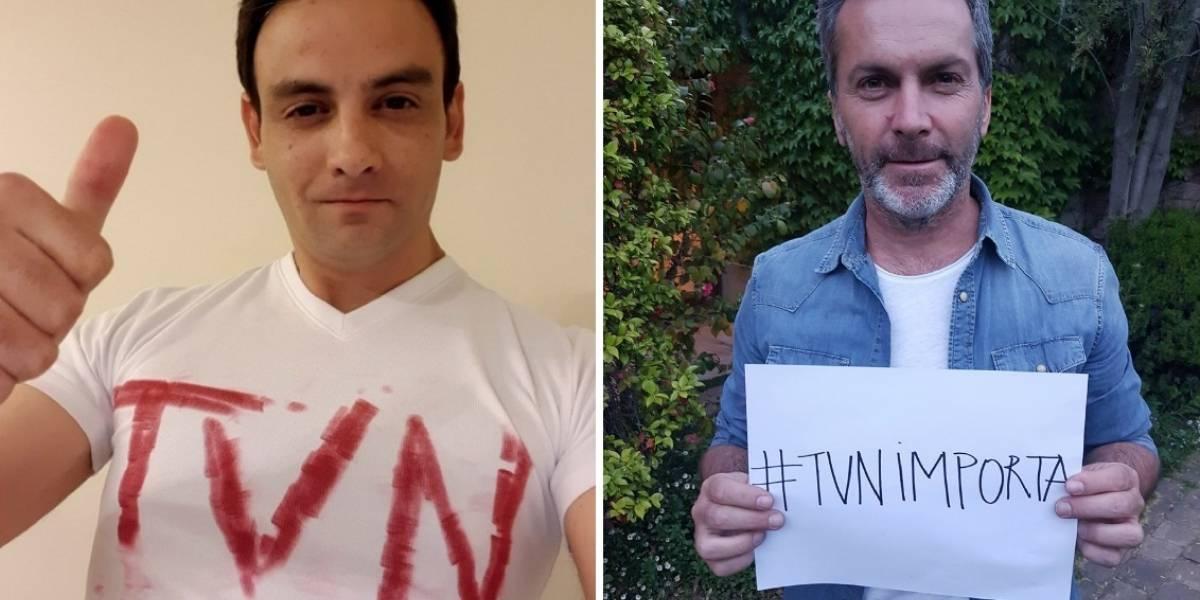 #TVNIMPORTA: La campaña de rostros y trabajadores en redes sociales para salvar el canal público