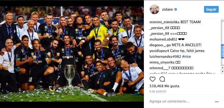 Insultos a Zidane