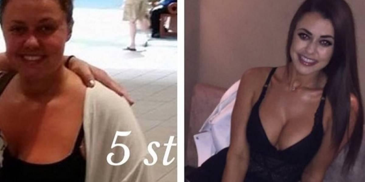 Mujer bajó 32 kilos y contó los trucos de su increíble transformación