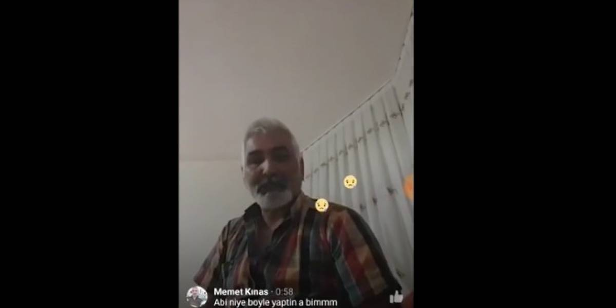 Su hija no le hizo caso y grabó su suicidio en Facebook