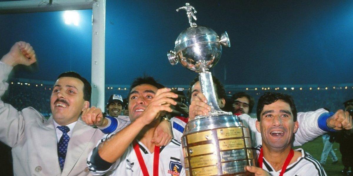 ¿Será cábala? Colo Colo ganó la Libertadores la única vez que tuvo a una marca de autos como auspiciador