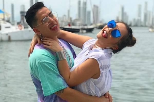 Lina Tejeiro y Andy Rivera