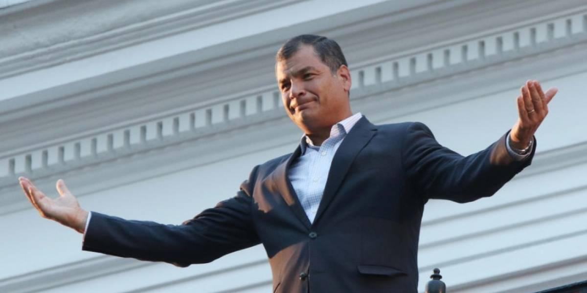 """Rafael Correa respondió a Lenín Moreno sobre """"problemas"""" con obras"""