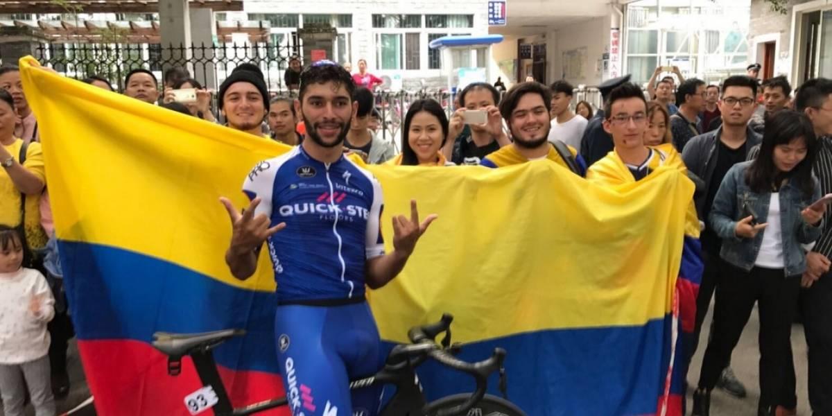 El más ganador del año: Fernando Gaviria llegó a su victoria 14 en China