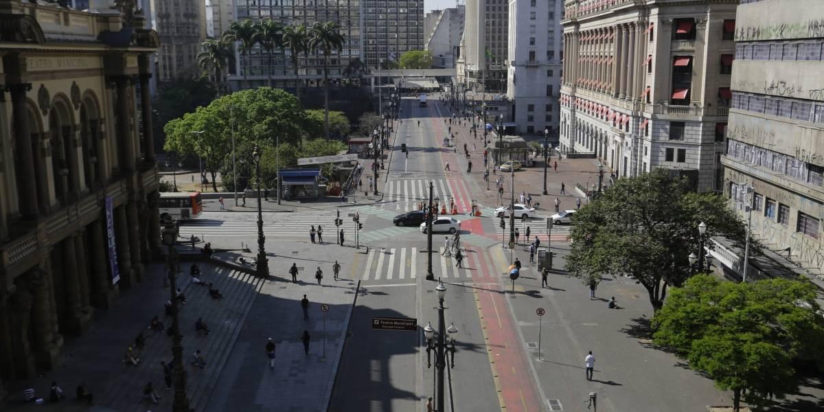 'Sexta sem carro': ruas do centro de São Paulo estão fechadas