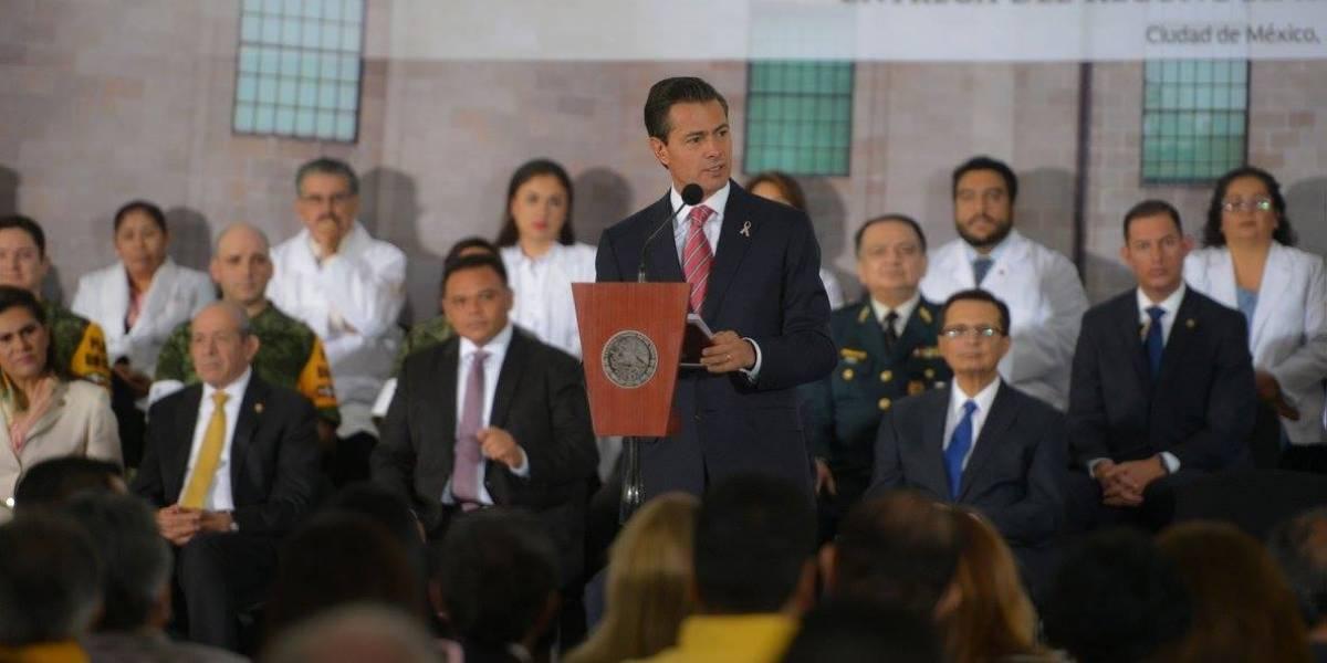 Peña Nieto recibirá en Palacio Nacional al primer ministro de Santa Lucía