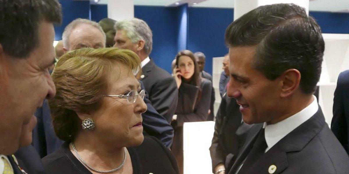 México se suma a Chile en la protección de la biodiversidad marina: Peña Nieto
