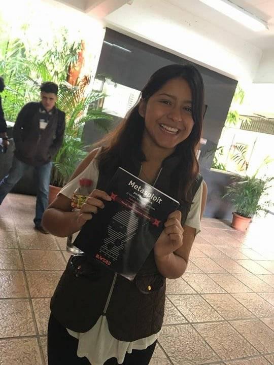 Fabiola Gómez, estudiante de primer ciclo de Ingeniería en Sistemas en la Universidad Galileo. Foto: Cortesía