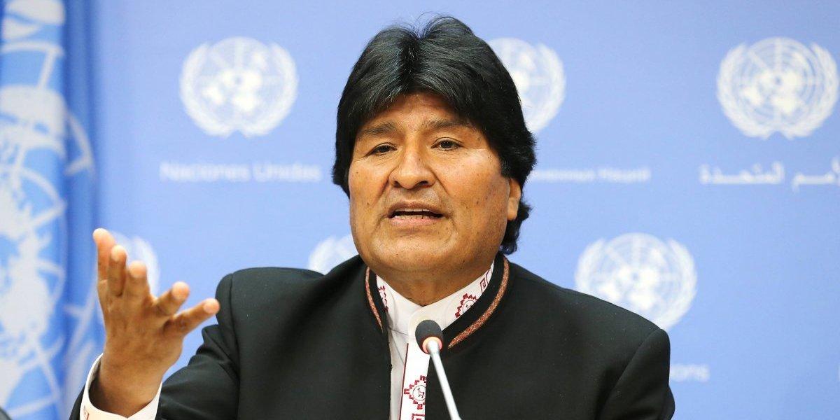 Evo Morales pide que la ONU tome 'medidas drásticas' contra Trump