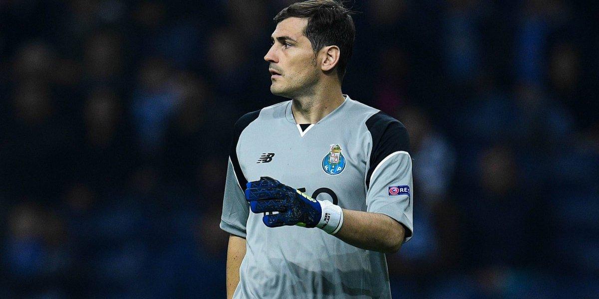 Revelan motivo por el que Casillas es suplente en Porto