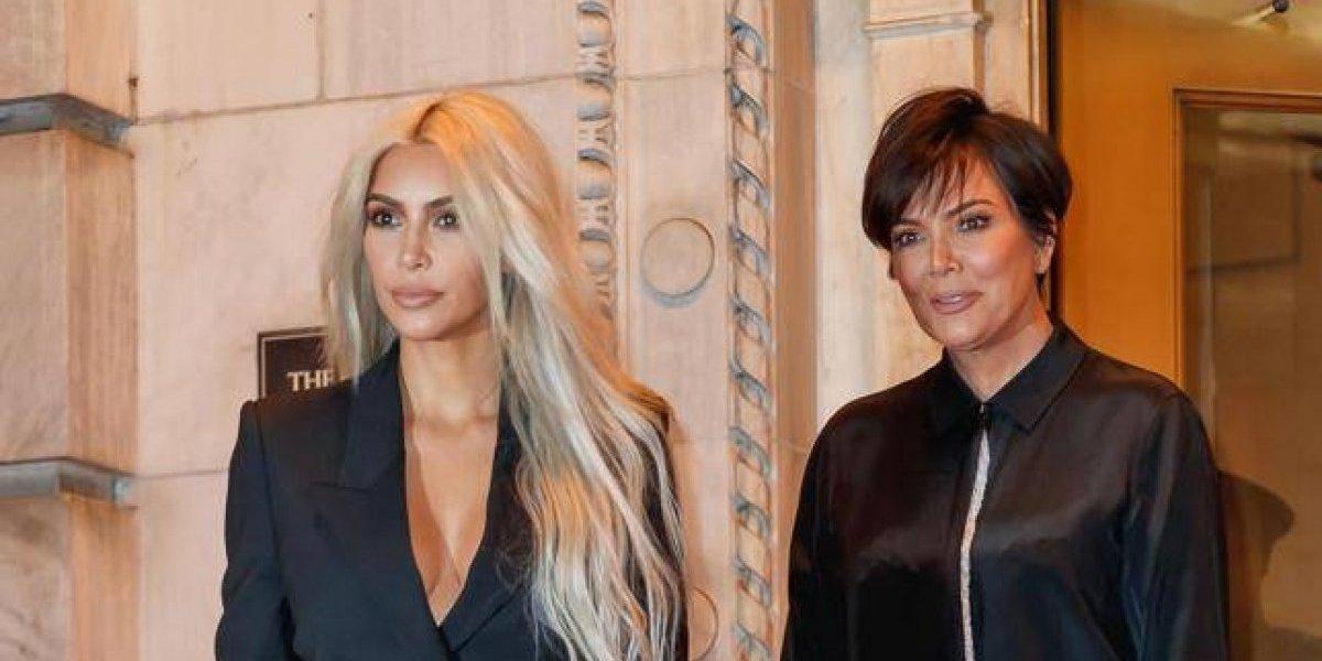 Kris Jenner copia el estilo de Kim Kardashian y cambió drásticamente su look
