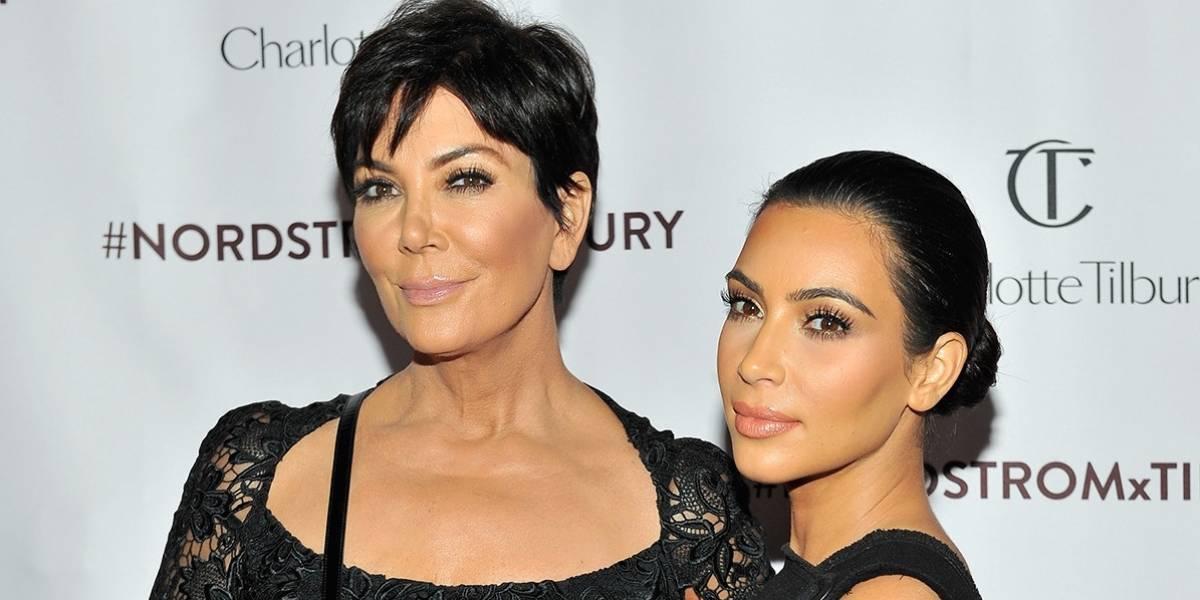 Kris Jenner copia el estilo de Kim Kardashian y cambia drásticamente su look