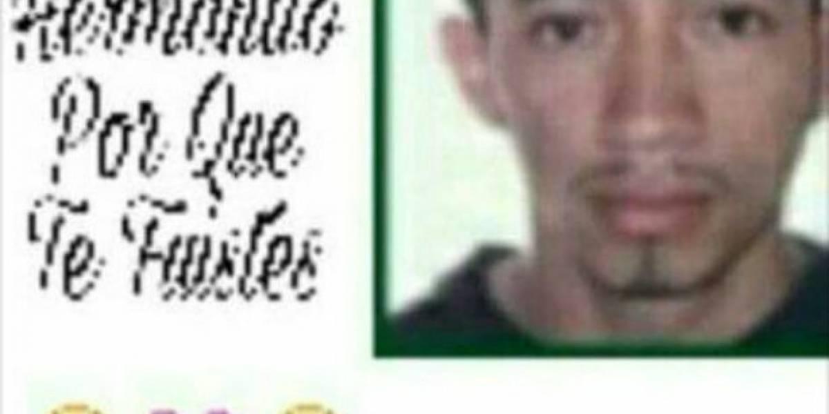 Lo hicieron pasar por muerto en redes sociales para que la Policía no lo capturara