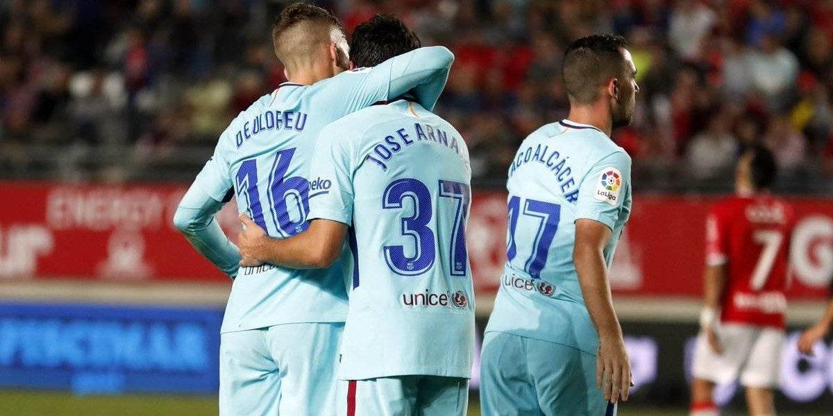 El Barça pone pie y medio en octavos de la Copa del Rey