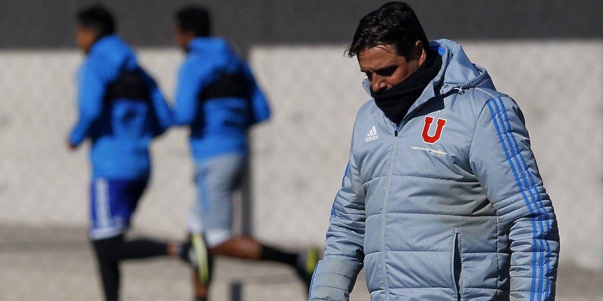 Hoyos define el 11 de la U ante Antofagasta sin el lesionado Beausejour