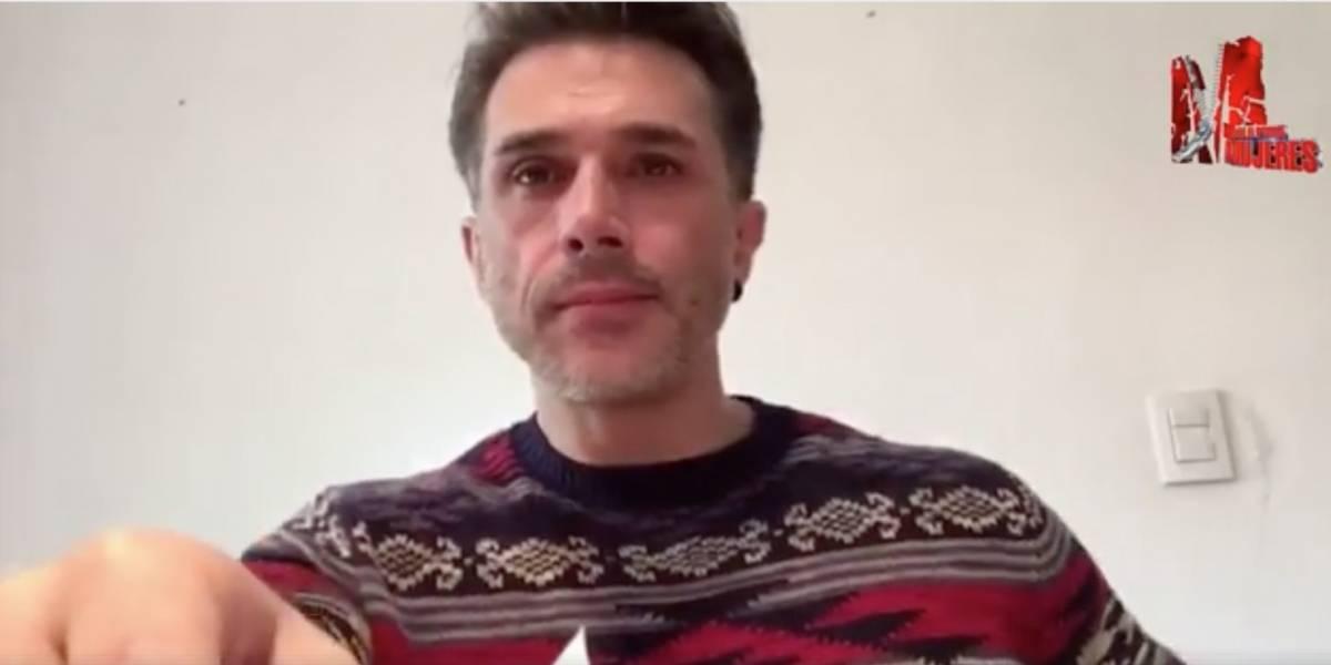 Sergio Mayer responde y manda mensaje a Pati Chapoy