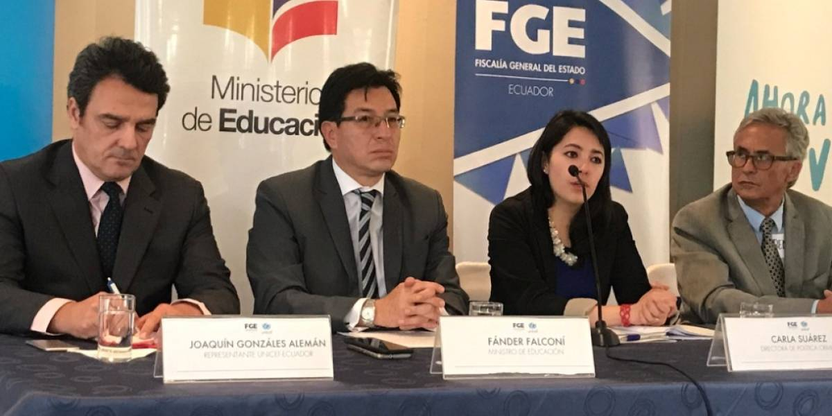 Ecuador elabora protocolo de entrevista a niños víctimas de abuso sexual