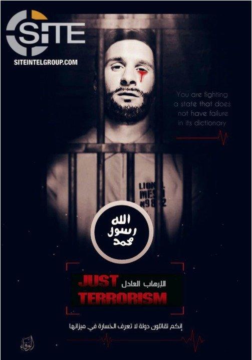 Internet Messi amenazado por ISIS