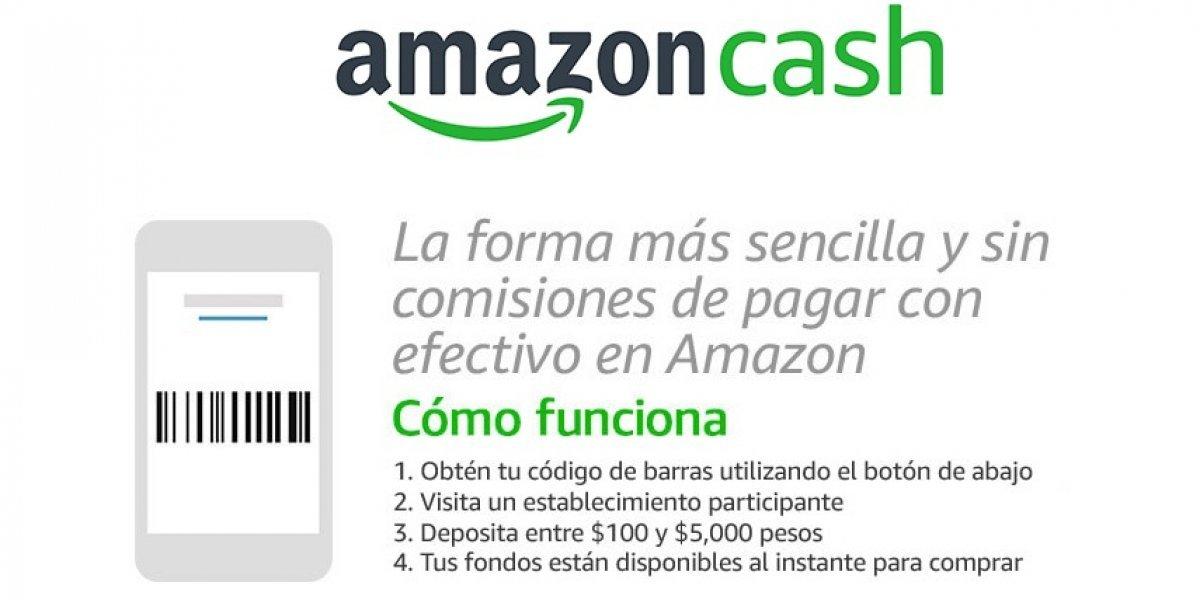 """Amazon México tiene una nueva forma de pago """"sin tarjetas"""""""