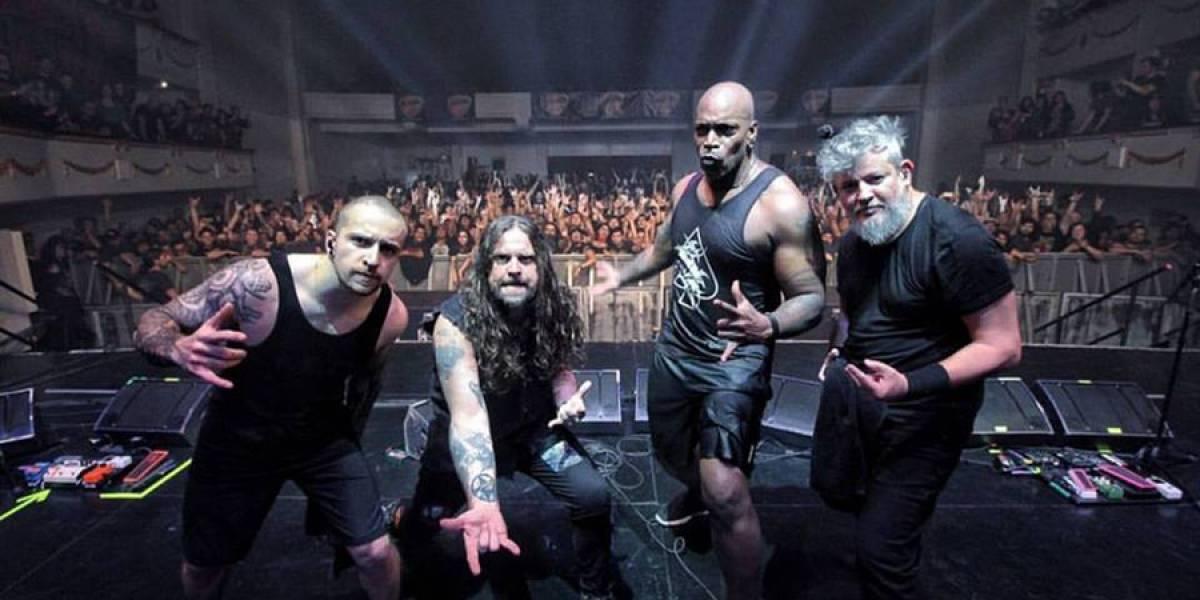 Sepultura ofrecerá concierto el jueves al lado de dos grandes bandas nacionales