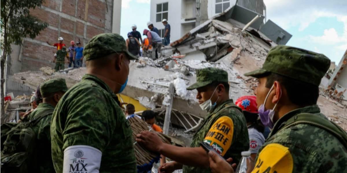 Investigan siete edificios dañados por sismo del 19-S