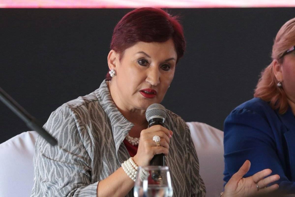 Thelma Aldana, fiscal del MP