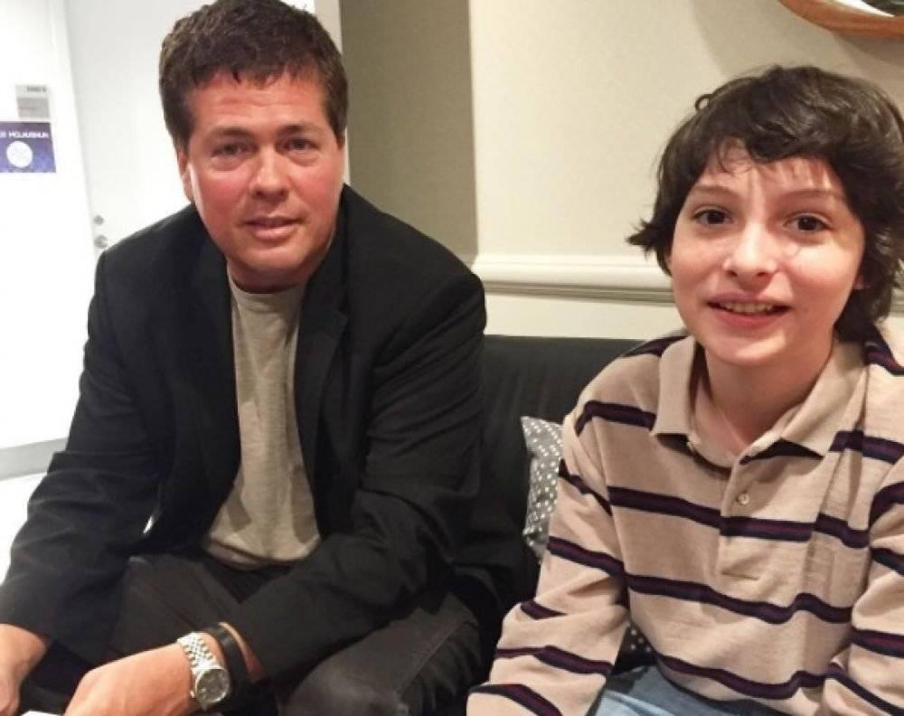 Tyler Grasham y Finn Wolfhard