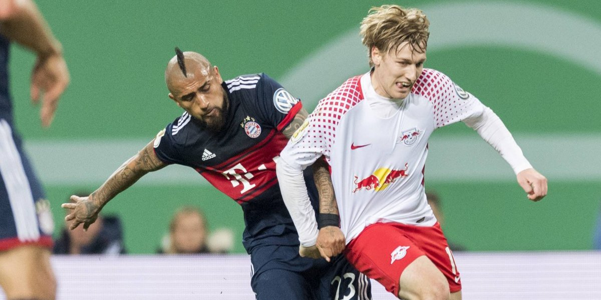 Bayern sufrió hasta los penales para ganar en el partido 100 de Arturo Vidal