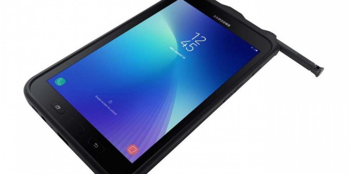Samsung lanza una resistente tableta Galaxy