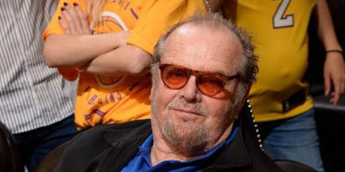 Jack Nicholson sorprendió con su irreconocible aspecto