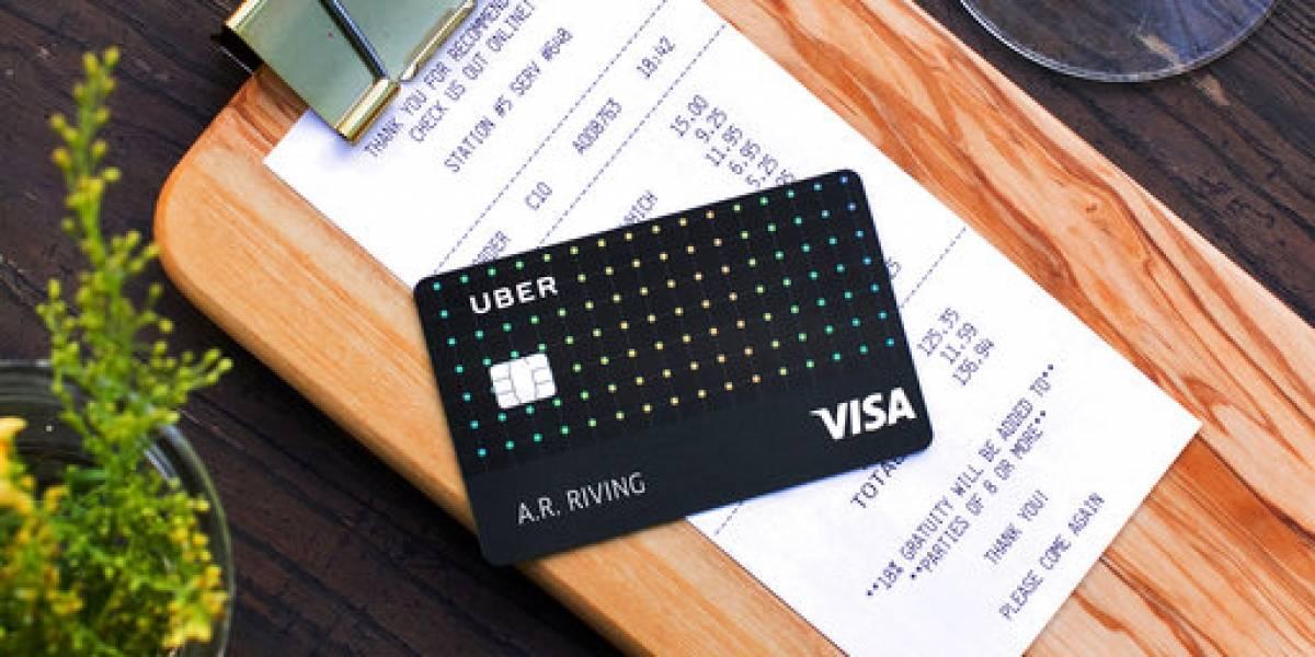 Uber lanza tarjeta de crédito