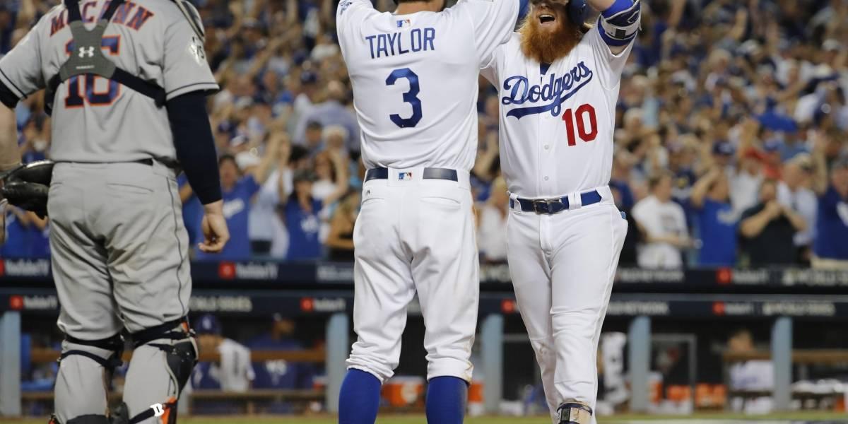 Dodgers toman ventaja ante los Astros