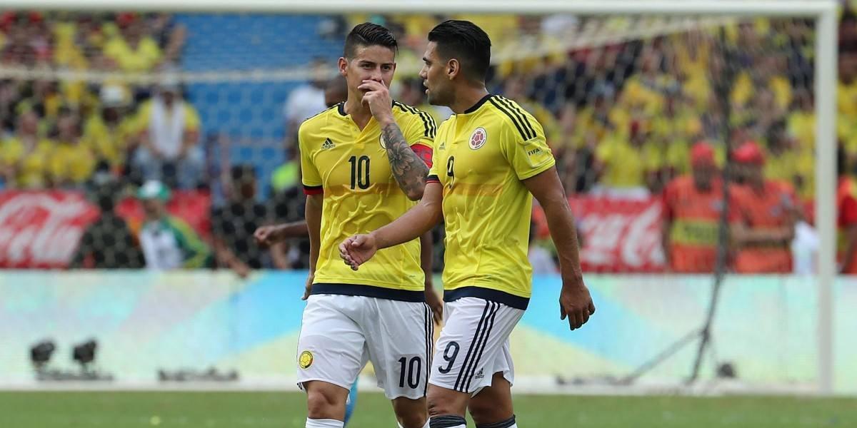 Listos los horarios de amistosos de Colombia