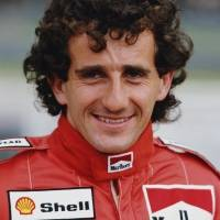 1990 Alain Prost con Ferrari