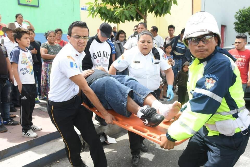 Ataque armado en la Parroquia. Foto: Omar Solís