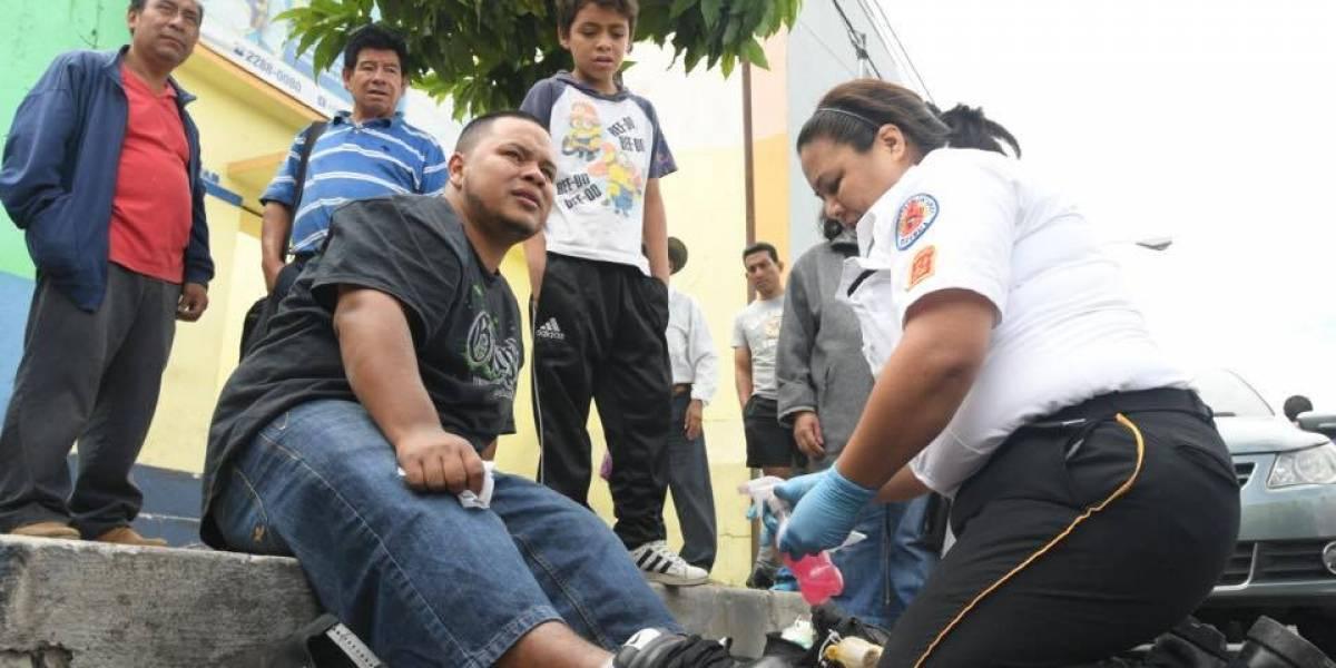 Presuntos pandilleros son atacados a balazos en la Parroquia